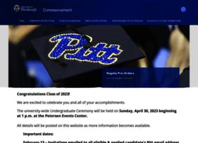 commencement.pitt.edu