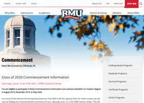 commencement.rmu.edu