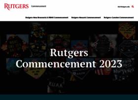 commencement.rutgers.edu