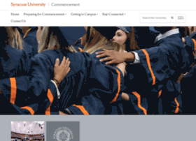 commencement.syr.edu