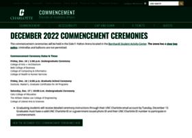 commencement.uncc.edu