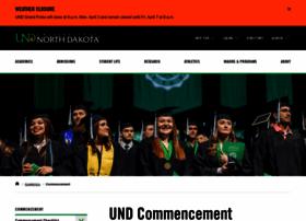 commencement.und.edu