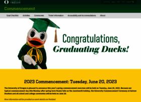 commencement.uoregon.edu
