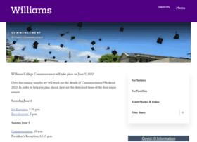 commencement.williams.edu