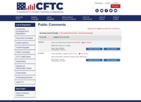 comments.cftc.gov