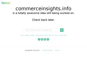 commerceinsights.info