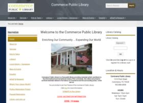 commercepubliclibrary.org