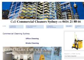 commercialcleaningsydney1stclass.com.au
