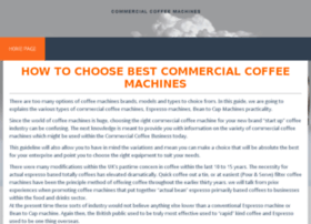 commercialcoffeemachines.org