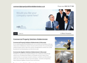 commercialpropertysolicitorskidderminster.co.uk