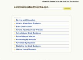 commissionstealthbombs.com