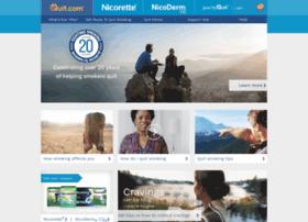 committedquitters.nicorette.com