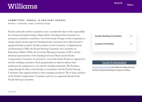 committees.williams.edu