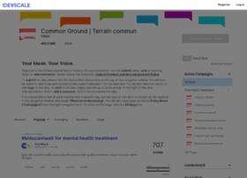 commonground.ideascale.com