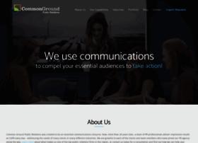 Commongroundpr.com