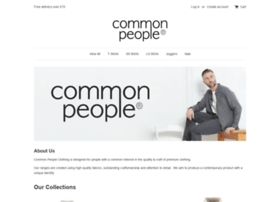 commonpeopleclothing.co.uk