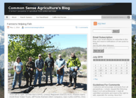 commonsenseagriculture.com