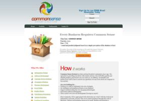 commonsensesystem.com