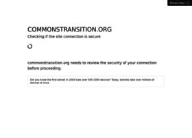 commonstransition.org