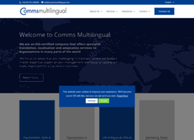 commsmultilingual.com