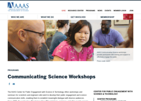 communicatingscience.aaas.org
