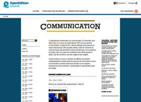 communication.revues.org