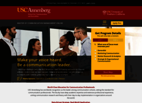 communicationmgmt.usc.edu