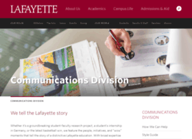 communications.lafayette.edu
