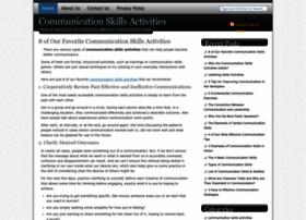 communicationskillsactivities.com