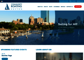 community-boating.org