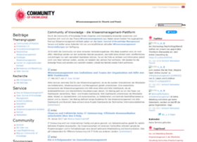 community-of-knowledge.de