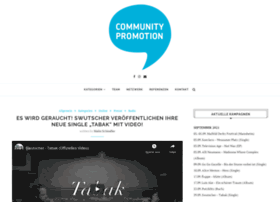 community-promotion.com
