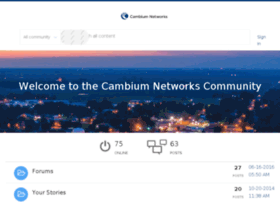 community-stage.cambiumnetworks.com