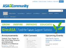 community.amstat.org