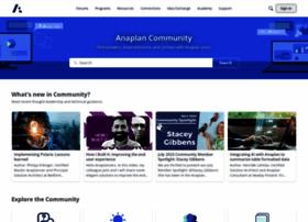 community.anaplan.com