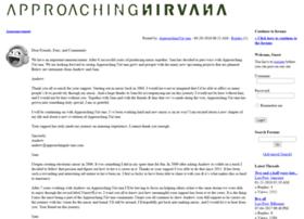 community.approachingnirvana.com