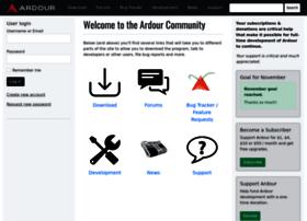 community.ardour.org