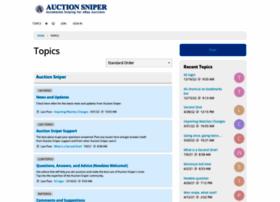 community.auctionsniper.com