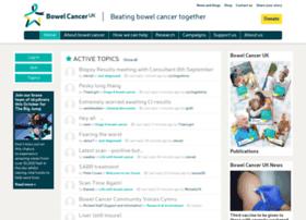 community.beatingbowelcancer.org
