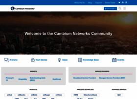 community.cambiumnetworks.com