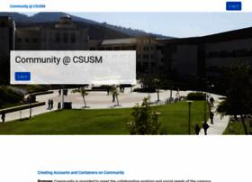 community.csusm.edu