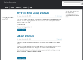 community.devhub.com