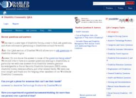 community.disabled-world.com