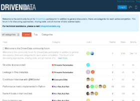 community.drivendata.org