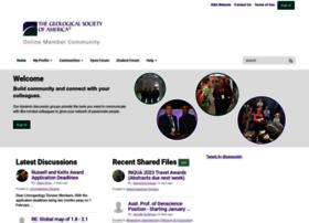 community.geosociety.org