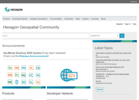 community.hexagongeospatial.com