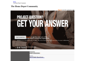 community.homedepot.com