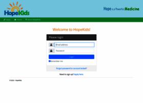 community.hopekids.org