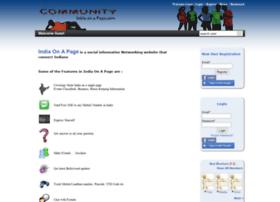 community.indiaonapage.com