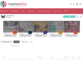 community.mamalette.com